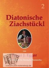 Franz Egger - Diatonische Ziachstückl Band 2 - Griffschrift