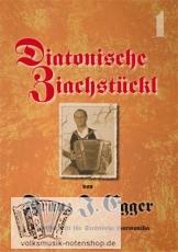 Diatonische Ziachstückl Band 1 von Franz Egger in Griffschrift