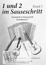 Ursula Suppan-Garber - 1 und 2 im Sauseschritt - Zusatzheft zu Band 1