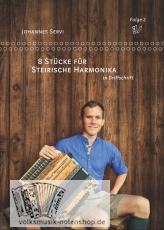 Johannes Servi - 8 Stücke für Steirische Harmonika - Folge 2