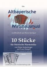 10 Stücke für Steirische Harmonika in Griffschrift
