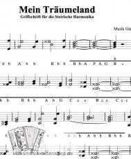 Mein Träumeland - Walzer von Günther Pacher - Einzelausgabe in Griffschrift