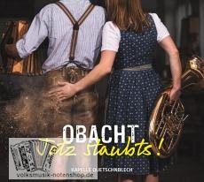 Quetschnblech - Obacht, jetz staubts! - CD- versandkostenfrei