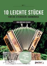 10 leichte Stücke von Günther Pacher in Griffschrift - versandkostenfrei