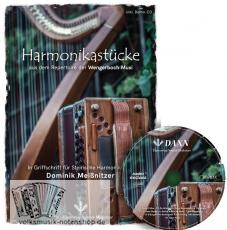 Harmonikastücke inkl. CD von der Wengerboch Musi - Folge 1 in Griffschrift