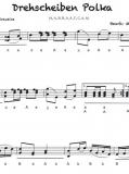 Drehscheiben Polka - Einzelausgabe in Griffschrift