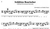 Schlitten-Boarischer - von Günther Pacher - Einzelausgabe in Griffschrift